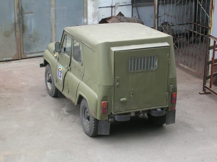 Железная крыша на УАЗ 469 - самостоятельное